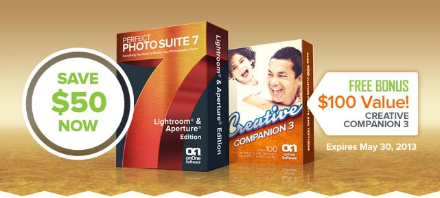 Get Perfect Photo Suite 7.1 + the Free Creative Companion Pack 3